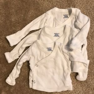 Gerber One Pieces - Lot of 11 PREEMIE onesies in 3 different styles!